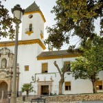 Residencia San Juan de Dios - Fachada de la Iglesia